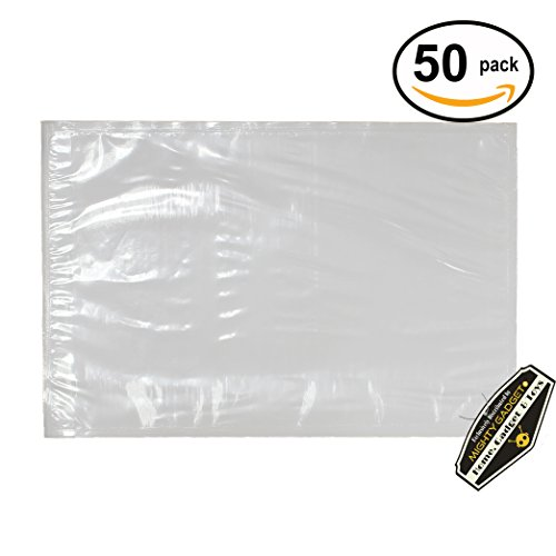 "Ups Packing Slip (50 pack of Mighty Gadget (R) Light Weight Side Loading Packing List Envelopes - 6.5"" x 10"")"