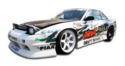 Duraflex ED-ARO-345 B-Sport Side Skirts Rocker Panels - 2 Piece Body Kit - Compatible For Nissan 240SX 1989-1994