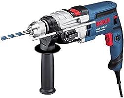 Bosch Professional 060117B500 GSB 19-2 RE Trapano Battente, con Percussione, a 2 Velocità, 850 W