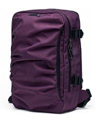 YUMC School Organizer Shoulder 15.6 Inch Ranipak Wave Design Backpack Bag, Awaken Of Dahlia/Purple, One Size