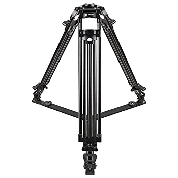 Image of Sirui BCT-2003 Professional 3-Section Aluminum Video Tripod with 75mm Bowl Camera Supports & Stabilizers