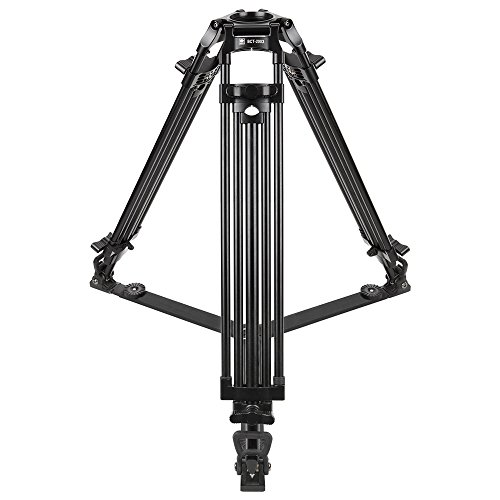 Sirui BCT-2003 3-Section Aluminum Video Broadcast Tripod, 22 Lbs Capacity, 63'' Max Height by Sirui