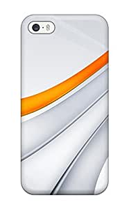Protection Case For Iphone 5/5s / Case Cover For Iphone(orange Stripes)