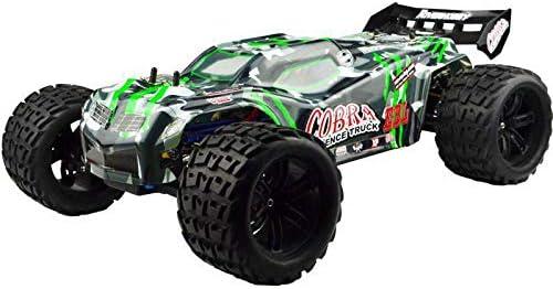 NOBRAND Carreras de Control Remoto Vrx Racing Rh818 Kit Cobra 1/8 Escala 4wd Coche Eléctrico RC, Sin Electrónica, Incluido Carcasa del Automóvil, Coche De Control Remoto