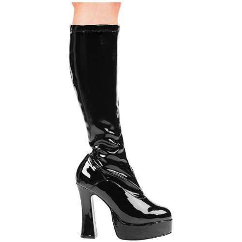 Cheap Police Boots (Cha Cha Boot Adult Shoes Black - Size)