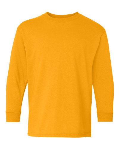 Gildan Boys Heavy Cotton Long Sleeve T-Shirt – The Super Cheap