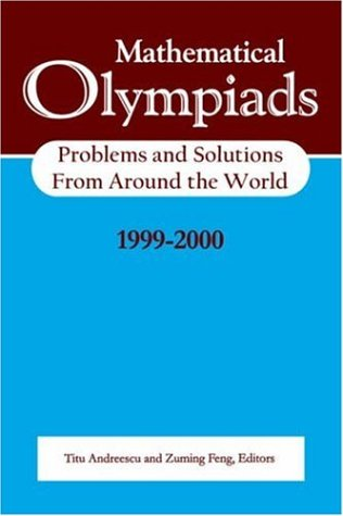 Mathematical Olympiads 1999-2000: Problems and Solutions