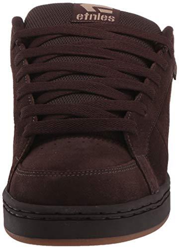 Etnies Kingpin Shoes 6 D(M) US Brown Black Tan