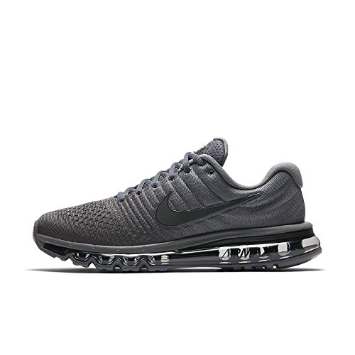 NIKE Mens Air Max 2017 Running Shoes (13, Cool Grey/Anthracite)