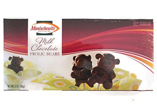 Manischewitz Passover Milk Chocolate Frolic Bears Lollipops