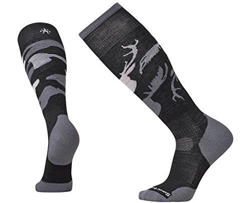 Smartwool PhD Slopestyle Light Revelstoke Socks (Black) Large
