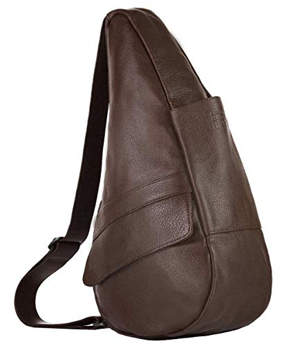 AmeriBag Classic Healthy Back Bag Tote Leather Small (Espresso) ()