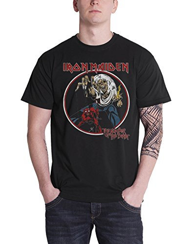 Iron Maiden 'Number Of The Beast Vintage' T-Shirt (large)