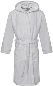 Mymixtrendz Kids Egyptian Cotton Bath Robe Boys Hooded Dressing Gown Girls Lounge Wear