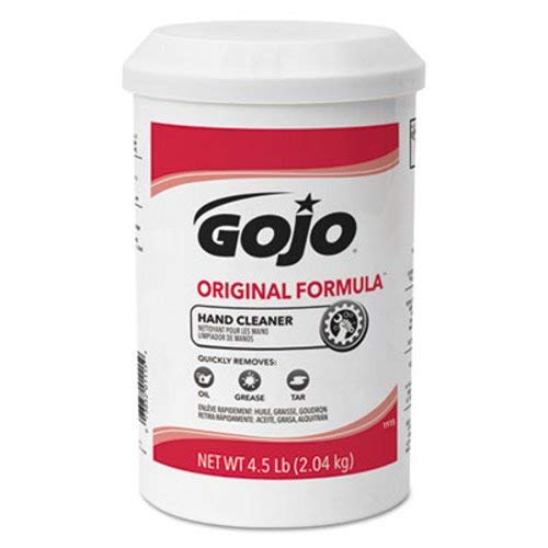 * ORIGINAL FORMULA Hand Cleaner, 4.5 lb, White, 6/Carton by Gojo (Image #1)