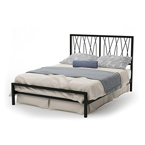 Amisco Ivy Metal Bed, Queen Size 60
