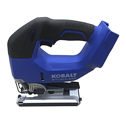 Kobalt KJS 324B-03 24-Volt Max Variable Speed Keyless Cordless Jigsaw, Blue/Black ()