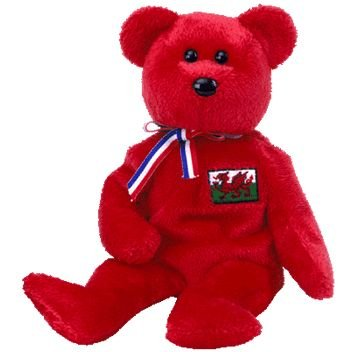 8902f04289e Amazon.com  TY Beanie Baby - WALES the Bear (Wales Exclusive)  Toys   Games