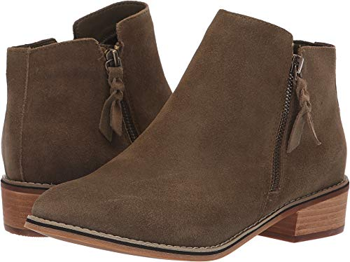 Blondo Women's Liam Waterproof Bootie Olive Suede 6 M US M