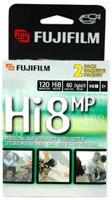 FUJIFILM 23028122 Hi8 Metal Particle Video Tape (2 pk) by Fuji
