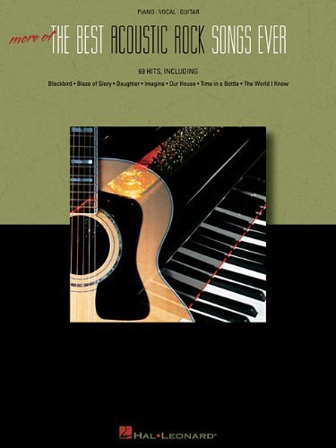 More of the Best Acoustic Rock Songs Ever by Hal Leonard Corp. (2008) Paperback
