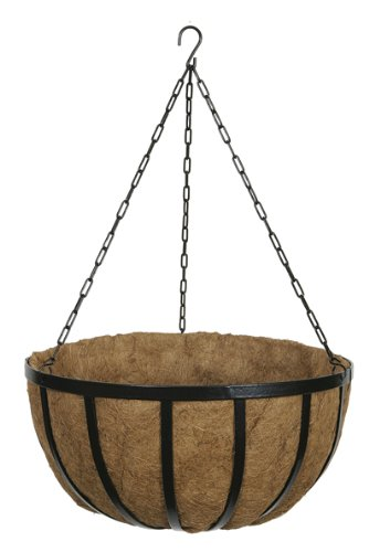 Gardman R947 Forge Hanging Basket with Coco Liner, 20