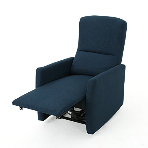 Bailey Traditional Navy Blue Fabric Power Recliner Review