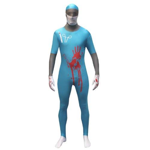 Morphsuits Men's Evil Surgeon Adult, Multi, Large]()