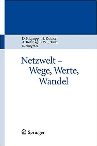 Gratis e-bøger og tidsskrifter download Netzwelt - Wege, Werte, Wandel (German Edition) på Dansk RTF B00TZZQYBU