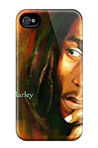CADike Fashion Protective Bob Marley Quotes Case Cover For Iphone 4/4s