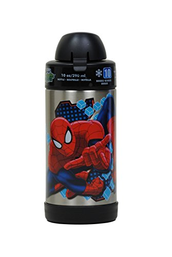 Spiderman 10 Thermos Funtainer Bottle