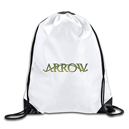 [Hunson - Special Fictional Character Training Gymsack Gym Bag For Men & Women Sackpack] (Green Arrow Wwe Costume)
