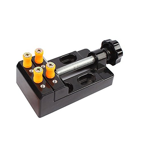 Farwind 57mm Adjustable Mini Jaw Bench Clamp Drill Press Vice Opening Parallel Table Vise DIY Sculpture