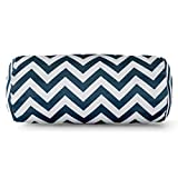 Majestic Home Goods Chevron Round Bolster Pillow