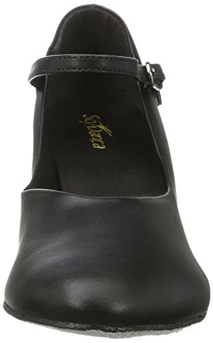 Ch792 Ballroom Danca Shoes Black Women black Dance So qwzExvRpCC