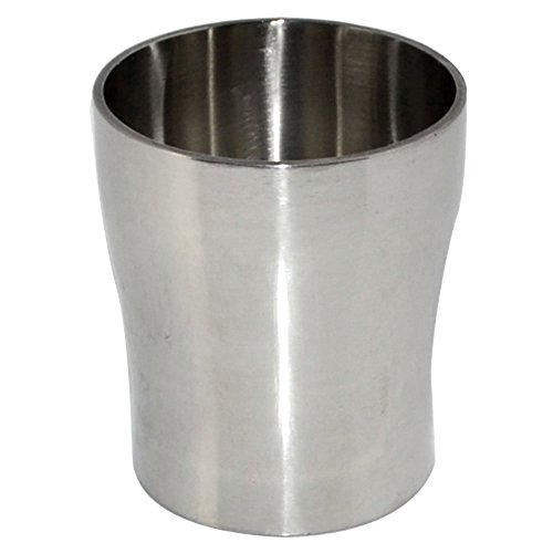 Stainless Steel 316 Pipe Fitting, Sanitary Weld Concentric Reducer, 45MM to 38MM 1.75
