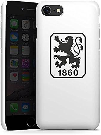 DeinDesign Premium Case kompatibel mit Apple iPhone 8 H/ülle Handyh/ülle Offizielles Lizenzprodukt TSV 1860 M/ünchen Bundesliga