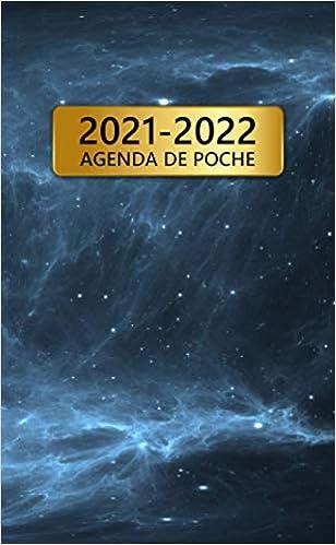 2021 2022 Agenda De Poche: 24 Mois Calendrier Mensuel | Janvier