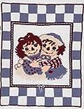 Raggedy Ann & Andy Special Hugs Crochet Afghan Kit
