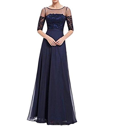 Leader of the Beauty - Vestido - para mujer azul azul marino 46