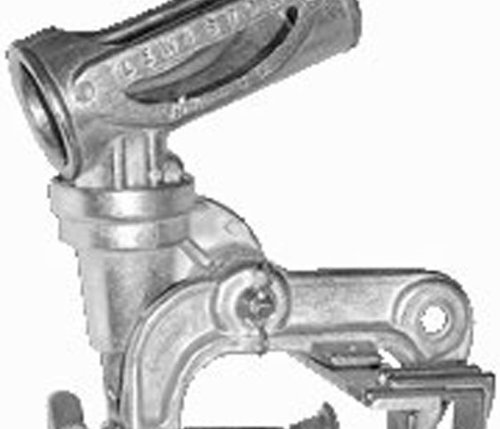 Down-East D-10 Rod Holder with Single Clamp Mount