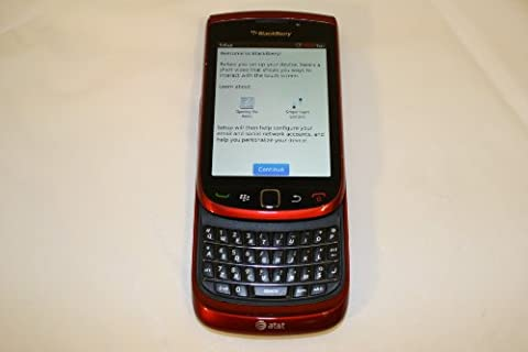 BlackBerry Torch 9800 Unlocked GSM Slider Cell Phone w/ Keyboard + Touchscreen and Optical Trackpad - (Blackberry 9800 Gsm)