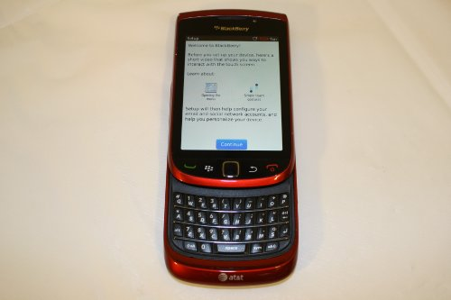 Mail Blackberry (BlackBerry Torch 9800 Unlocked GSM Slider Cell Phone w/ Keyboard + Touchscreen and Optical Trackpad - Red)