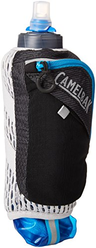 CamelBak Ultra Handheld Chill Quick Stow Flask, Black/Atomic
