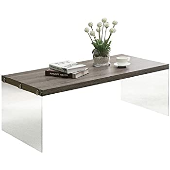 Multi Functional Modern Stylish Coffee Table With Tempered Glass And Wood  Top Home Design Ideas