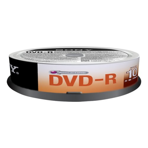 UPC 027242852488, Sony DMR 47SP - 10 x DVD-R - 4.7 GB 4x - spindle - storage media