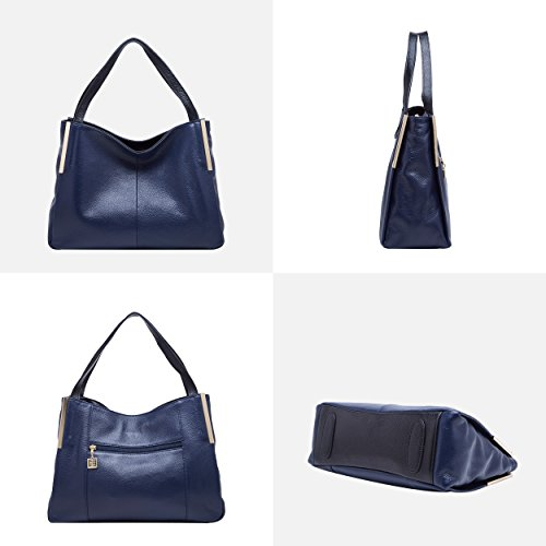 Elegant Satchel for Bags Leather BOYATU Handbags Blue Women Shoulder Crossbody Totes ZxXw0wA8