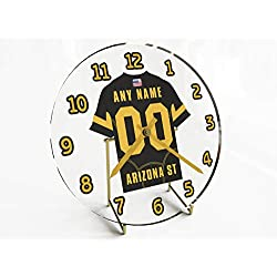 FanPlastic PAC-12 PACIFIC-12 Conference College Football - Personalized Desktop Clocks - Size 7 X 7 X 2 - The Best A Fan CAN GET !!! (Arizona State)