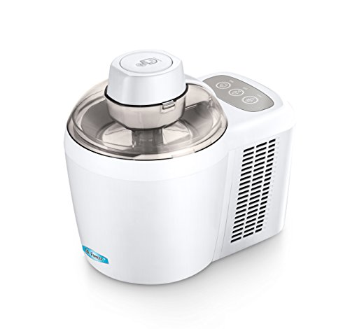 Mr. Freeze EIM-700 Self-Freezing Self-Refrigerating Ice Cream Maker, 1.5 Pint, White by Maxi-Matic