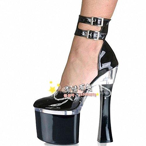 GaoXiao 18 zentimeter performance high heels dj dj dj schuhe braut hochzeit schuhe - a46d1a